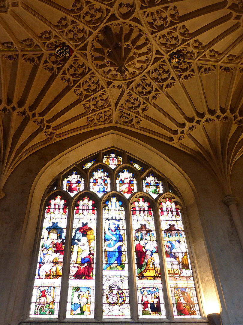 Window and vaulting