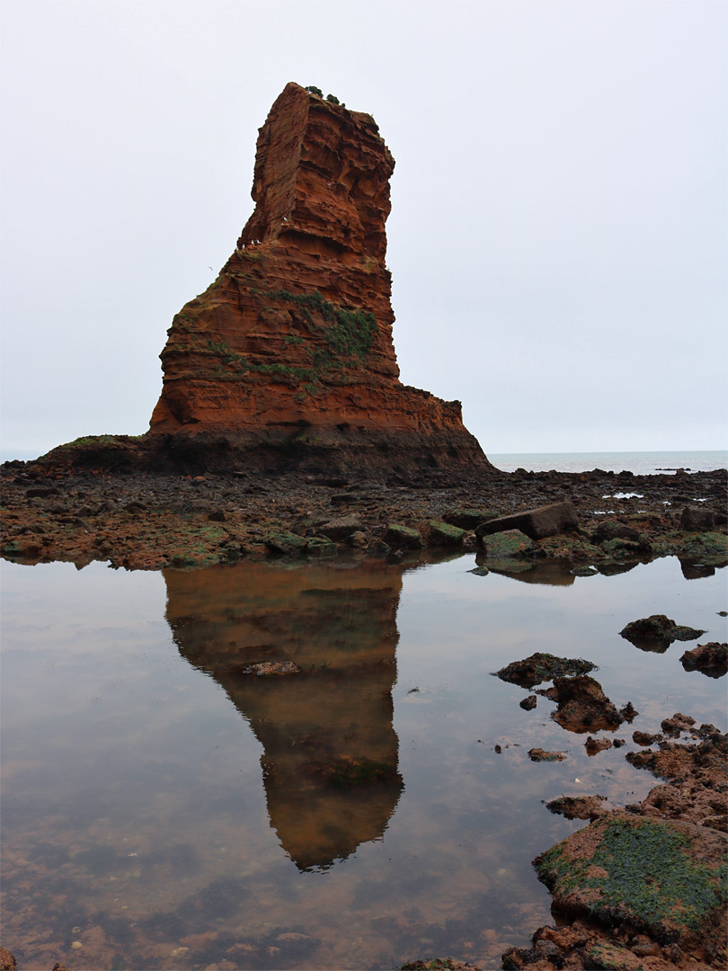 Reflection of Big Picket Rock