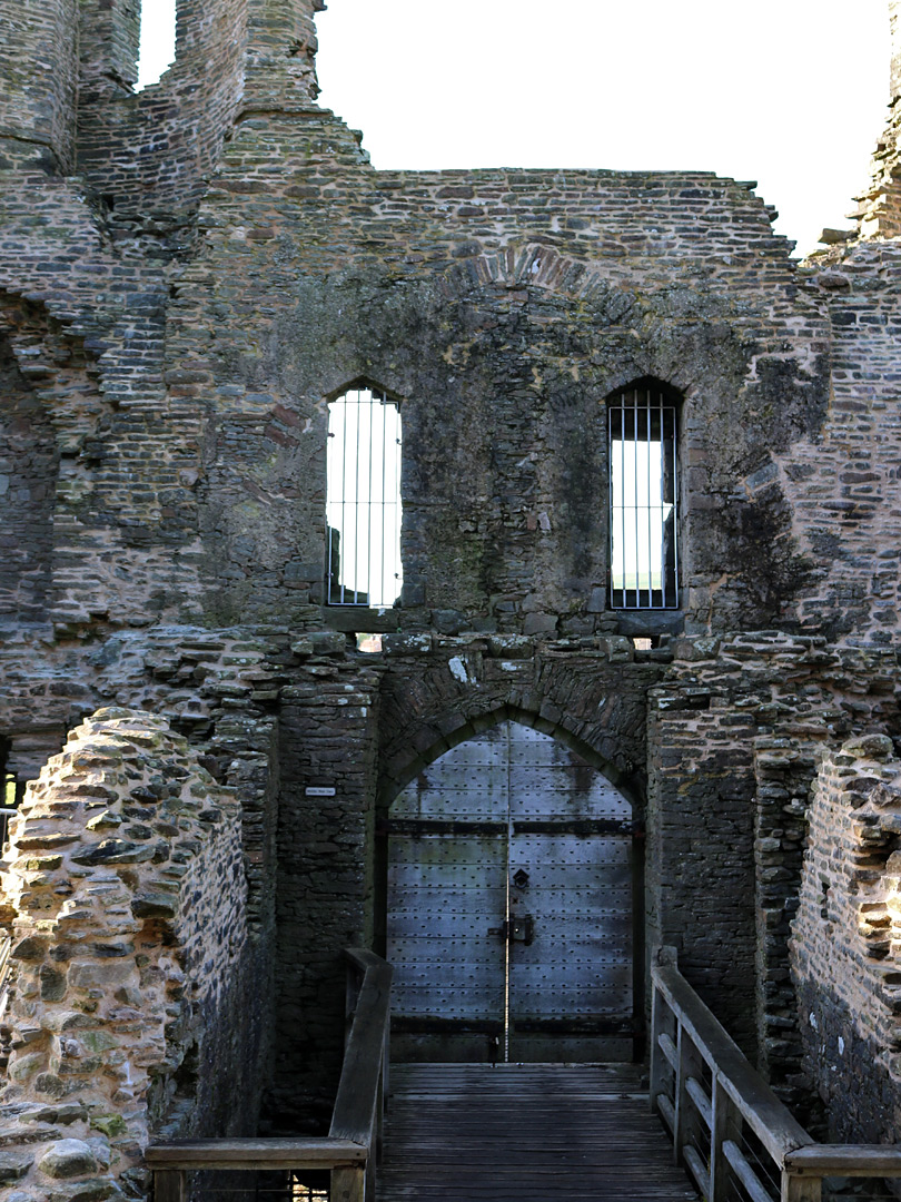 Outer west gatehouse