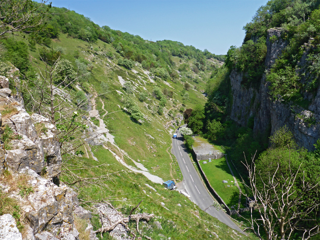 Road through the gorge