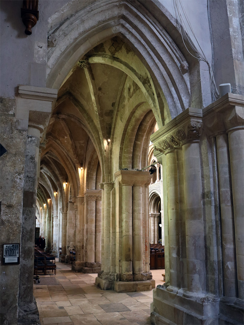 South nave aisle