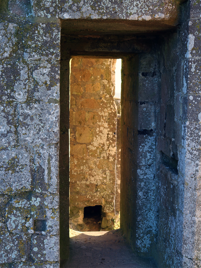 Rectangular doorway