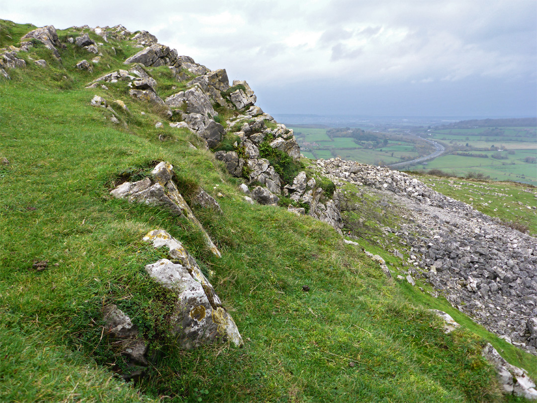 The summit - view northwest