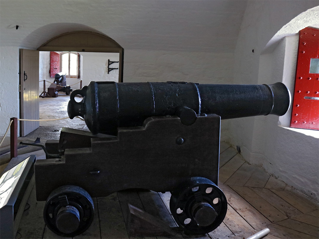 Cannon in the battery