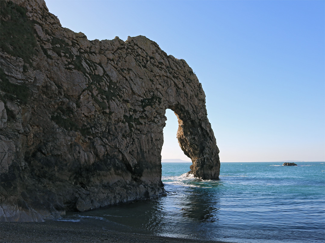 Durdle Door, from the beach