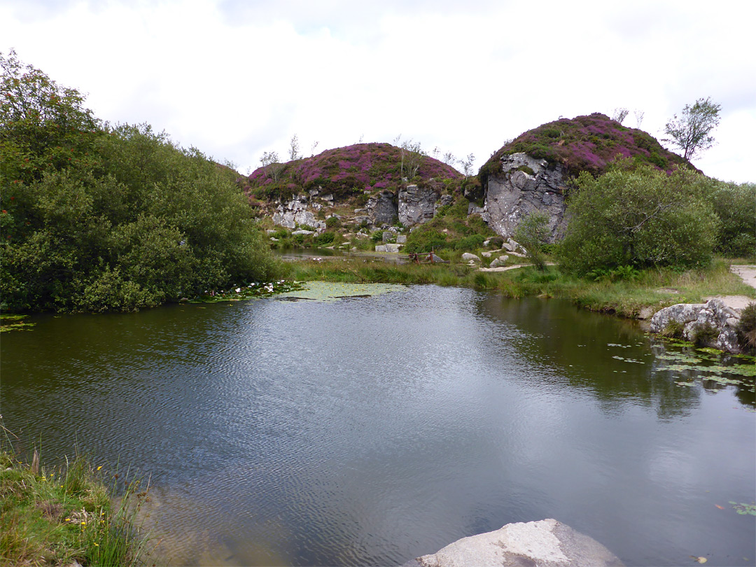 Pool in the quarry