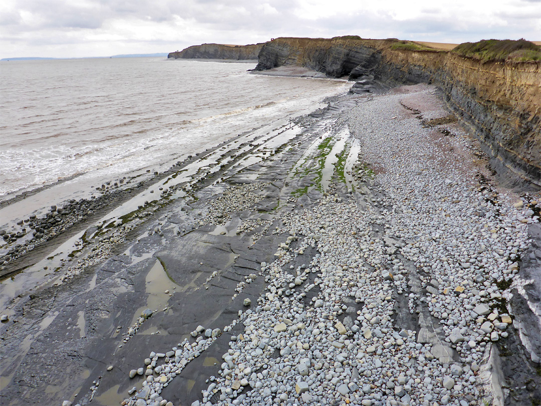 Beach west of Kilve