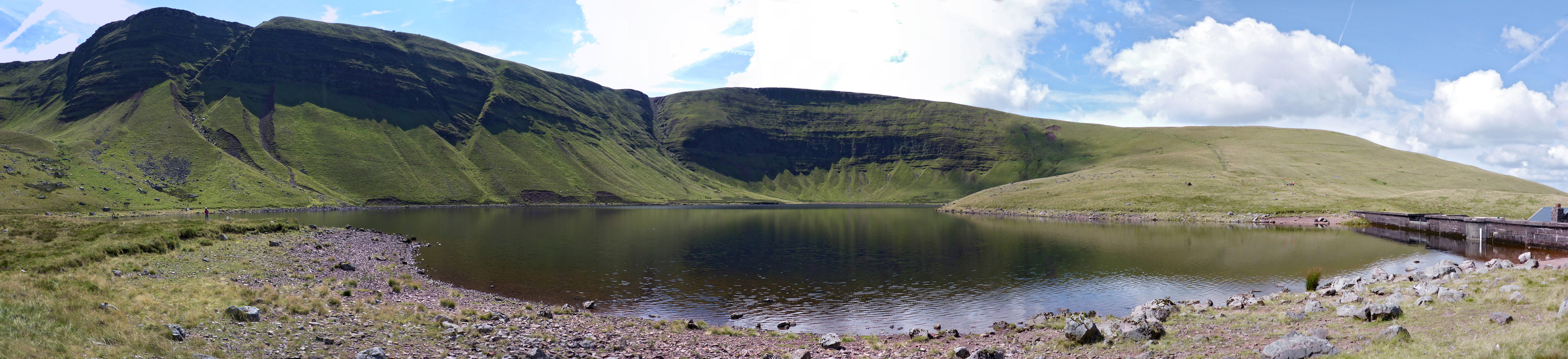 Shoreline of Llyn y Fan Fach