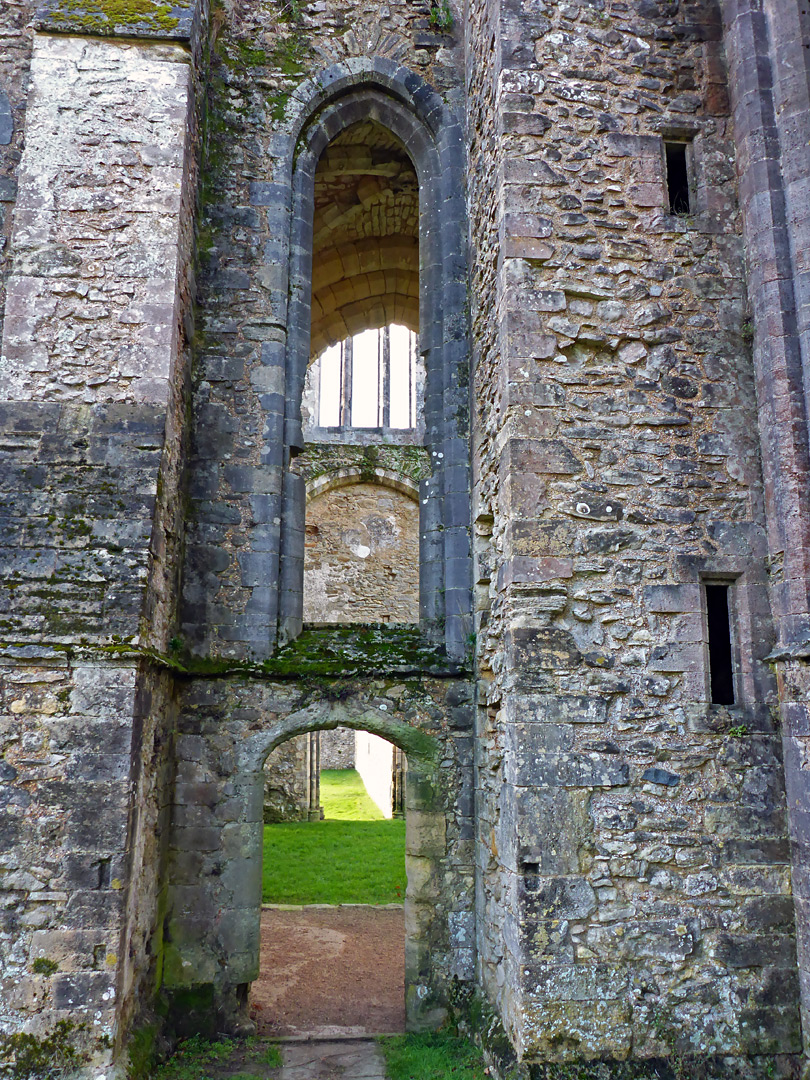 Doorway to the south transept