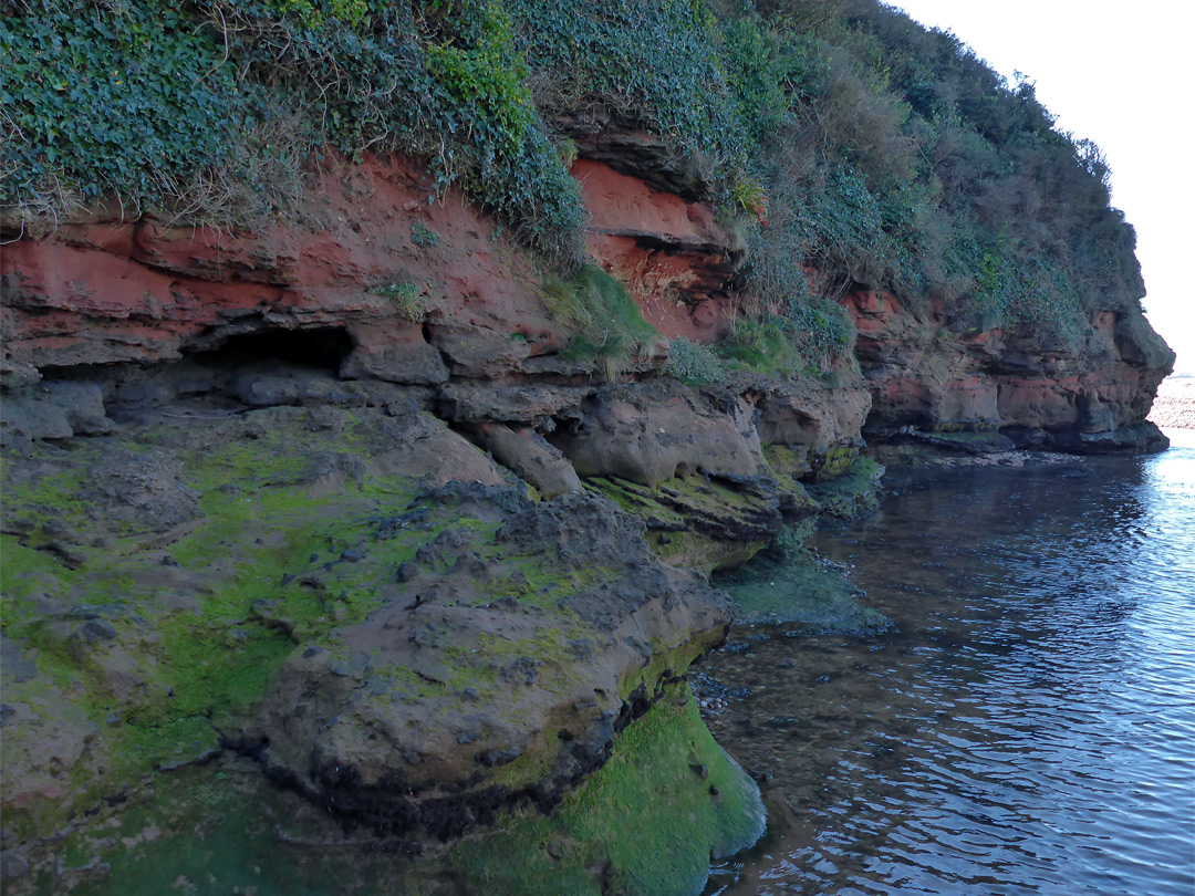 North side of Otterton Point