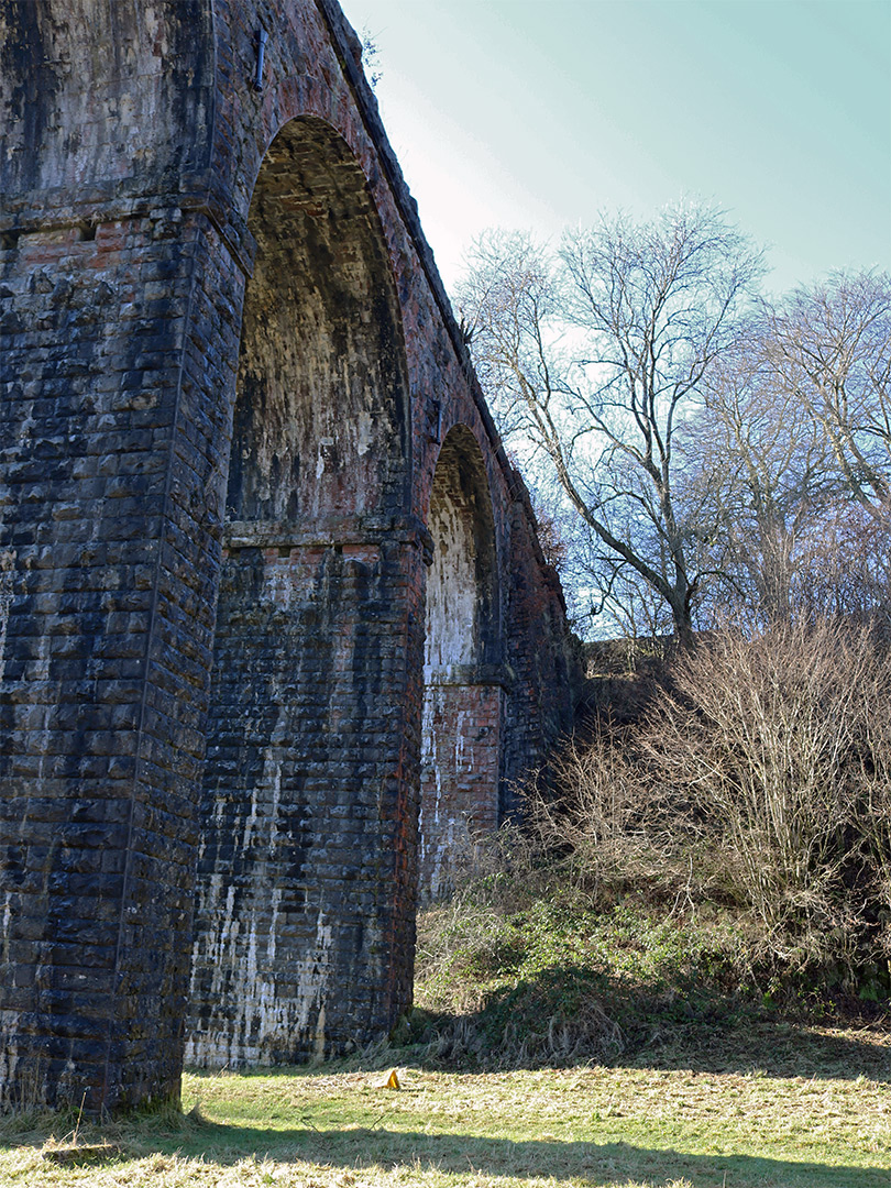 Arches of Pontsarn Viaduct