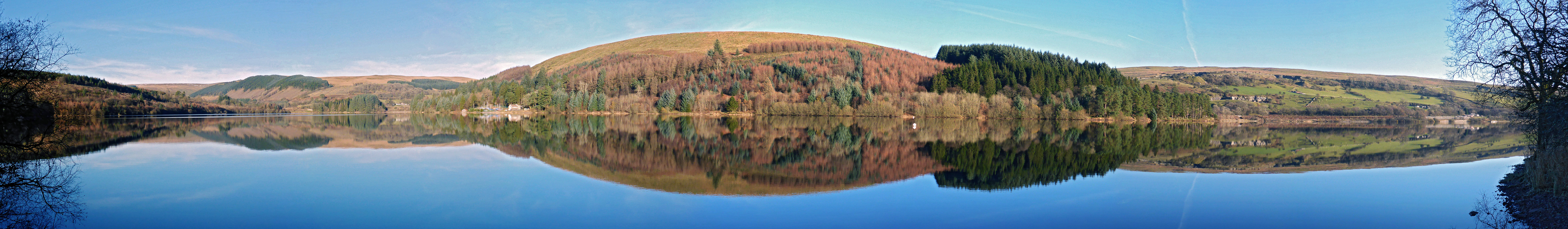 Reflections on Pontsticill Reservoir
