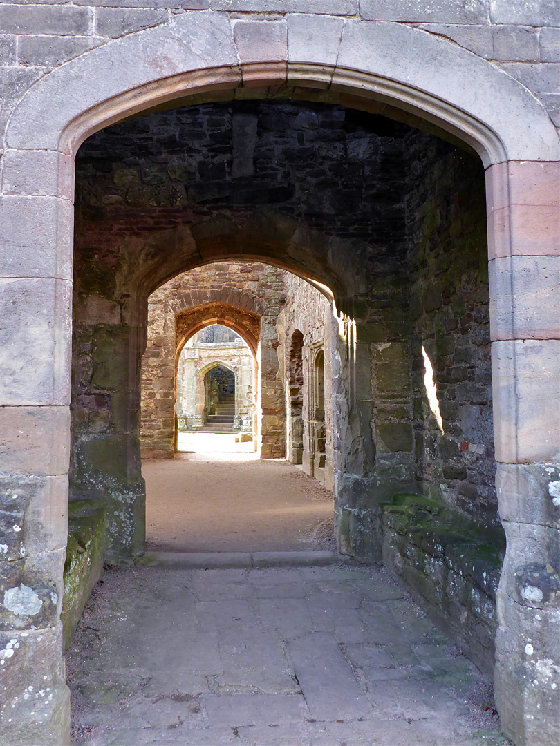 Passage through the great hall