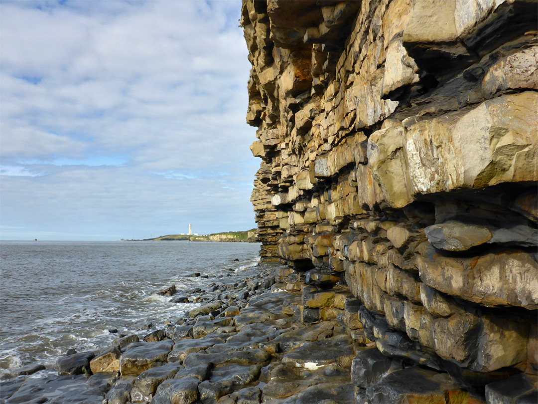 Cliffs at Rhoose Point