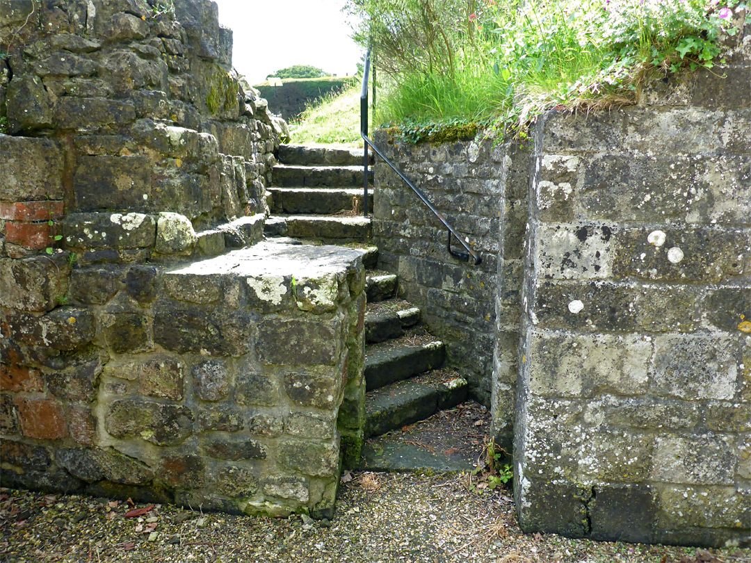 Steps to the crypt