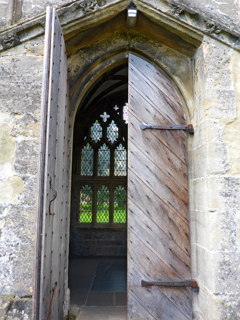 Door to the cloisters