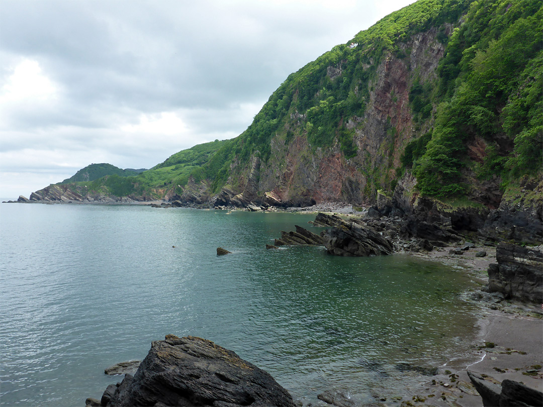 Beach at Woody Bay