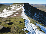Pen y Fan and Fan y Big Horseshoe Walk