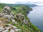 Valley of Rocks to Woody Bay