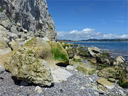 Rocks below Beer head