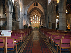 The nave - east