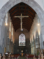 Cross above the nave