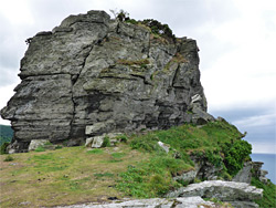 Large rocky outcrop