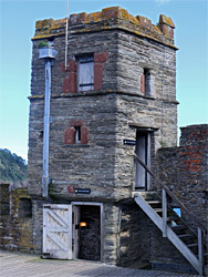 Turret of the gun tower