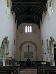 East end of the nave