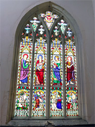 Strickland memorial window