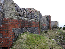 Wall remnants
