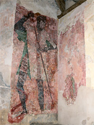 15th century wall painting