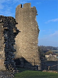 Tower and gatehouse