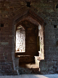 Doorway in the chapel
