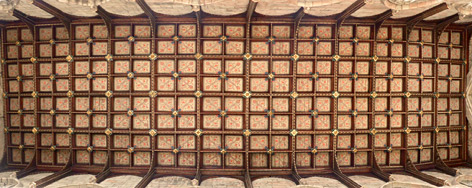 Ceiling of the nave