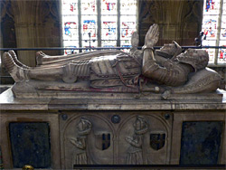 Knottesford tomb