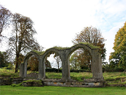 West cloister arches