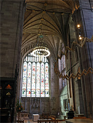 Crossing and south transept