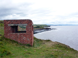 Pill box - view west