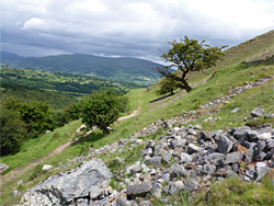llangattock escarpment brecon beacons national park powys