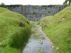 Path to the quarries