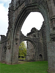 Arch of the north transept