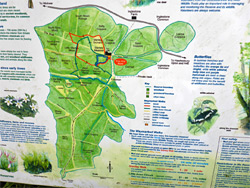 Map of the reserve
