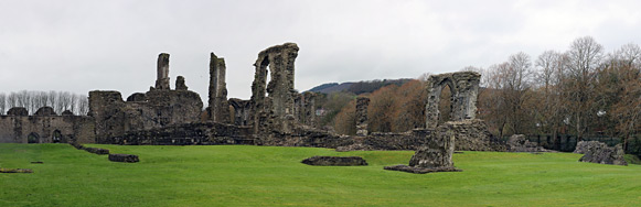 Panorama of the abbey