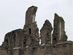 Walls of the abbey