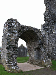 Gatehouse arch