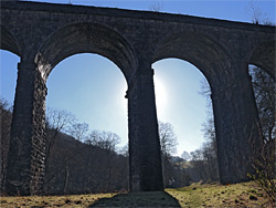 North side of Pontsarn Viaduct