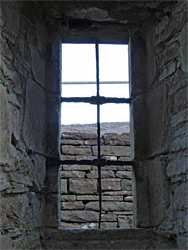 Original iron window frame