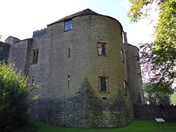 East gatehouse tower