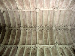 Ribbed ceiling